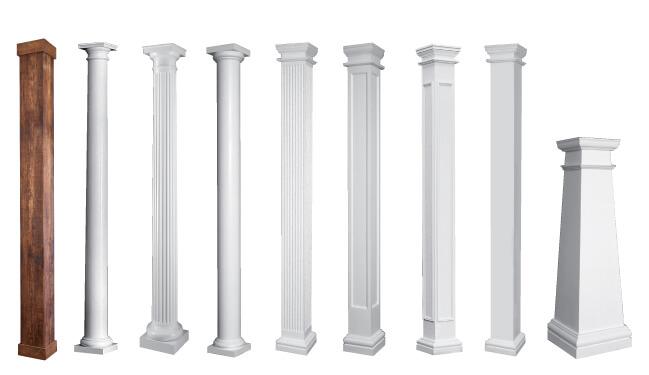 Permacast Columns Shop Square Porch Columns Tapered Fiberglass Columns For Porches Hb G Columns,Islamic Geometric Design Step By Step